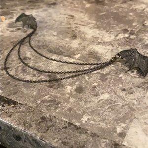 Bat Wing Lapel Pin